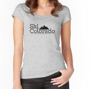 Vintage ski colorado mountains stickers by holidayshirts for T shirt printing loveland co