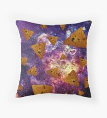 Doge Doritos In Space Throw Pillow