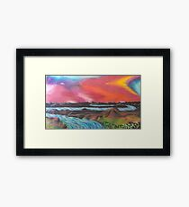 Tranquil Sunset Over Water Framed Print