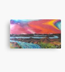 Tranquil Sunset Over Water Canvas Print