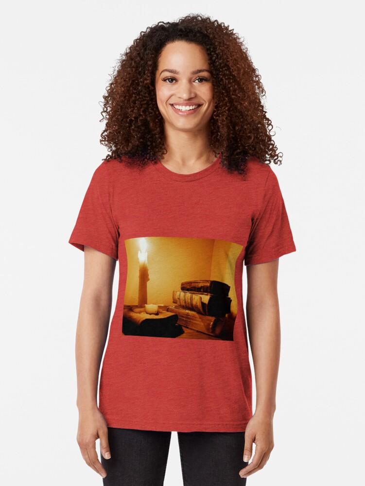 Alternative Ansicht von Das Wort durch Kerzenlicht Vintage T-Shirt