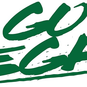 Go Vegan Green Logo by GlutenFreeGear