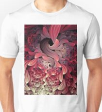 Rooster Abstract Art Unisex T-Shirt