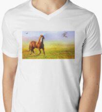 Horse On The Prairie T-Shirt
