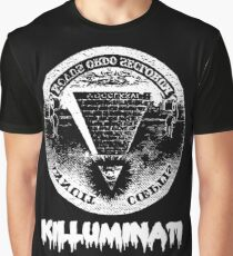 Killuminati-black Graphic T-Shirt