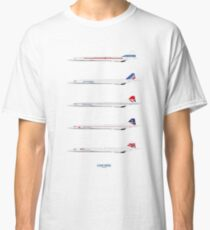 Concorde 1969 To 2003 Classic T-Shirt