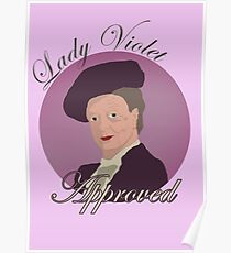 Lady Violet Approved Poster