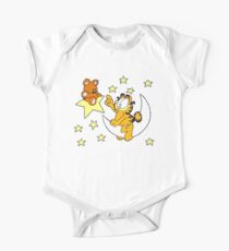 Garfield and Bear One Piece - Short Sleeve
