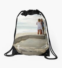 Cottesloe Beach 1 Drawstring Bag
