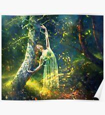 Bohemian Dancer Fantasy Poster