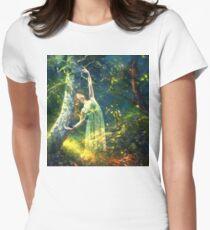 Bohemian Dancer Fantasy Womens Fitted T-Shirt