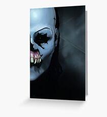Until Dawn Masked Maniac Greeting Card