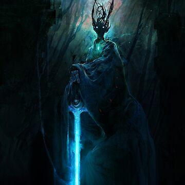 The Dark Lord Awakens by cobaltplasma