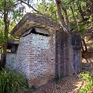 Bunker at Hungry Beach on Pittwater NSW by Doug Cliff