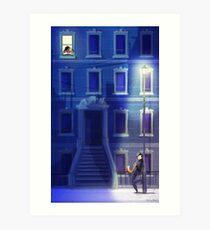 Blue Serenade Art Print