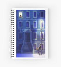 Blue Serenade Spiral Notebook