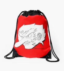 Tengu Cabeza  Drawstring Bag