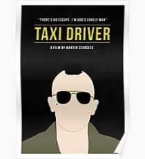 Taxi Driver film poster Poster