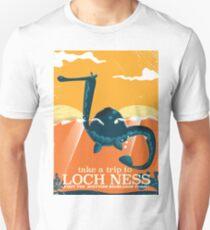 Loch Ness Scotland highlands vintage monster Poster Unisex T-Shirt