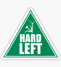 NSW GREENS HARD LEFT FACTION Sticker