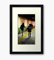 5am girls  Framed Print