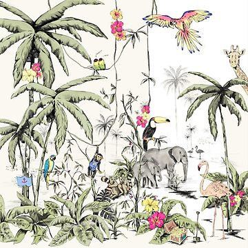 Jungle print by annetweelink