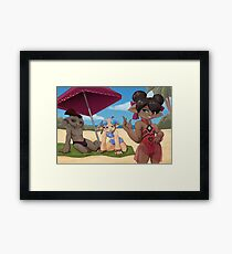 Swimsuit Season Framed Print
