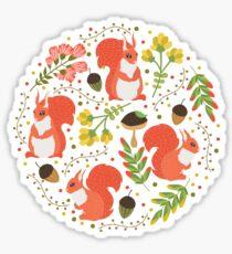 Squirrels Sticker