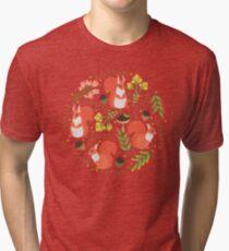 Squirrels Tri-blend T-Shirt