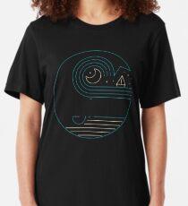 Mondlicht Gefährten Slim Fit T-Shirt