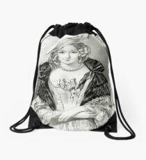 Amanda - Currier & Ives - 1846 Drawstring Bag