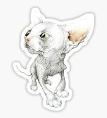 The Sphynx Sticker