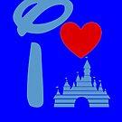 I Heart Castle (Inverted) by ShopGirl91706