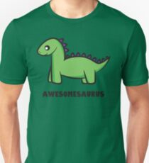 Awesomesaurus (green) Unisex T-Shirt