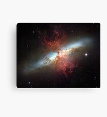 Starburst galaxy, Messier 82 Canvas Print