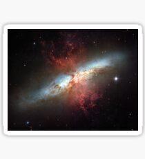 Starburst galaxy, Messier 82 Sticker