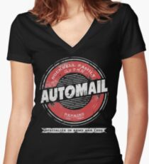 Rockbell Automail Women's Fitted V-Neck T-Shirt