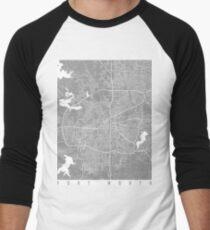 Fort Worth map grey T-Shirt