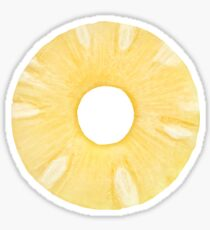 Canned pineapple ring Sticker