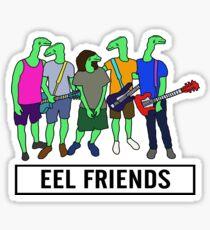 Eel Friends 3 Sticker