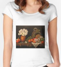 Vintage Women's Fitted Scoop T-Shirt