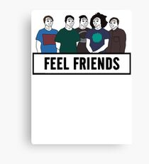 Feel Friends Canvas Print