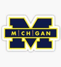 Michigan Smoke Logo Sticker