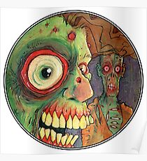 Apocalyptic circle of undead Poster