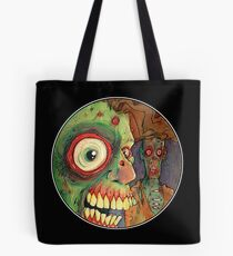 Apocalyptic circle of undead Tote Bag