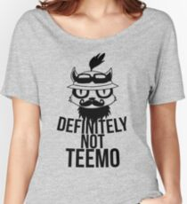 Definitely not :3 Women's Relaxed Fit T-Shirt