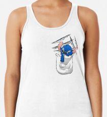 Camiseta con espalda nadadora Nivel de maldad creciente