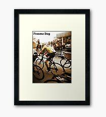 Froome Dog Framed Print