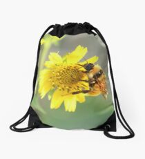 Busy busy bee Drawstring Bag