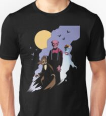 Mike Mignola style Count Chocula, Franken Berry, and Boo-Berry T-Shirt